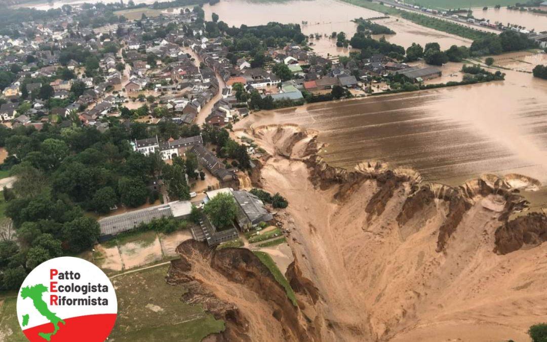 Emergenza alluvioni in Europa